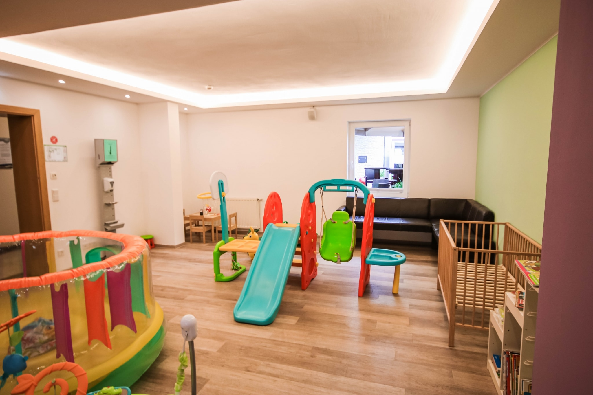 Baby Spiele Raum